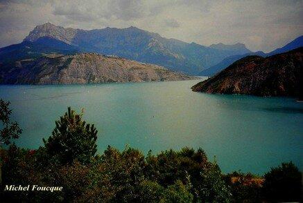 3) Tour du lac de Serre Ponçon à vélo