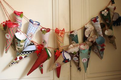 Advent-Calendar-Ideas-Paper-Cones