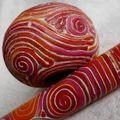 Stylo Garance_ zoom escargot