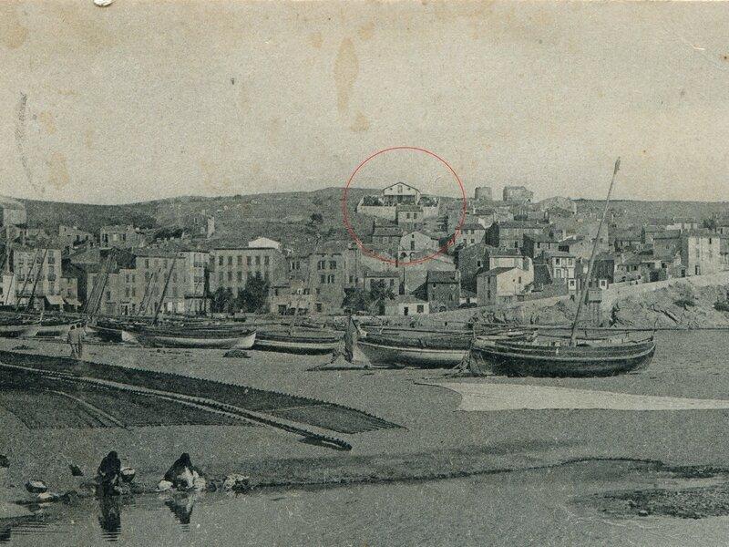 088 La Plage, vue prise du Fontaulé 1904'