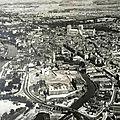 York vue aerienne en 1940