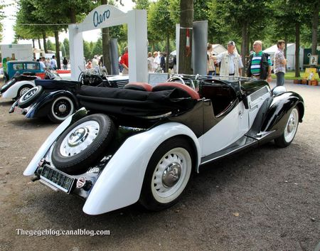 Aero 50 serie 10 roasdter de 1940 (9ème Classic Gala de Schwetzingen 2011) 02