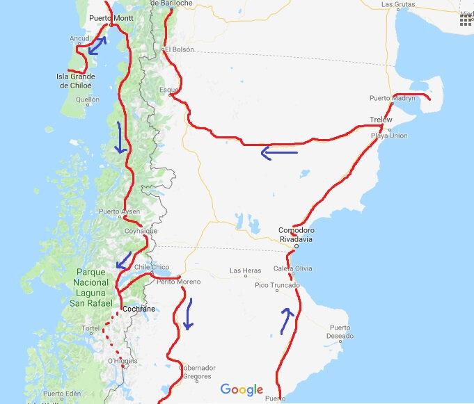 5 - Nord de la Patagonie