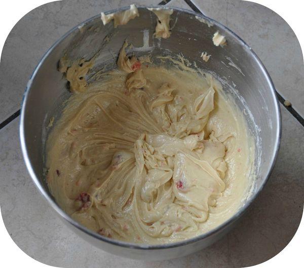 Cake aux cerises 1