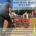26 mai 2016 - journée technique maraichage - montoison (26)
