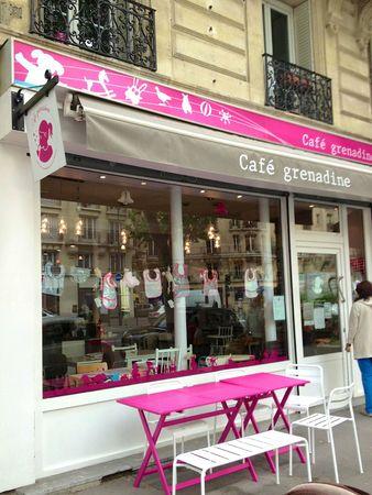 Café Grenadine Paris Au pays des Cactus 1
