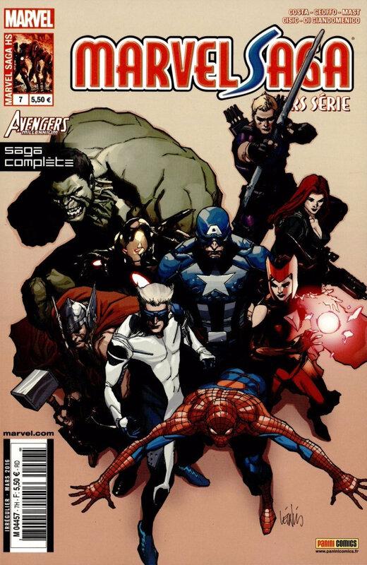 marvel saga hs V1 07 avengers millenium