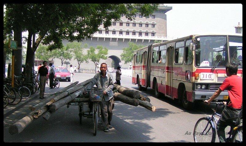 Porte Qianmen Pékin