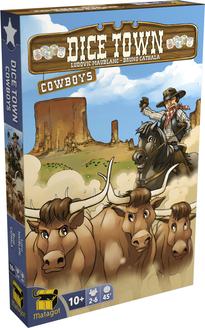 Boutique jeux de société - Pontivy - morbihan - ludis factory - Dicetown cowboy