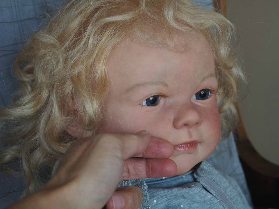 Voici les premières photos de Vaiana du kit Avery de Jannie de Lange