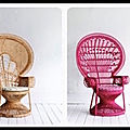Fauteuil emmanuelle - peacock chairs of radness - the family love tree