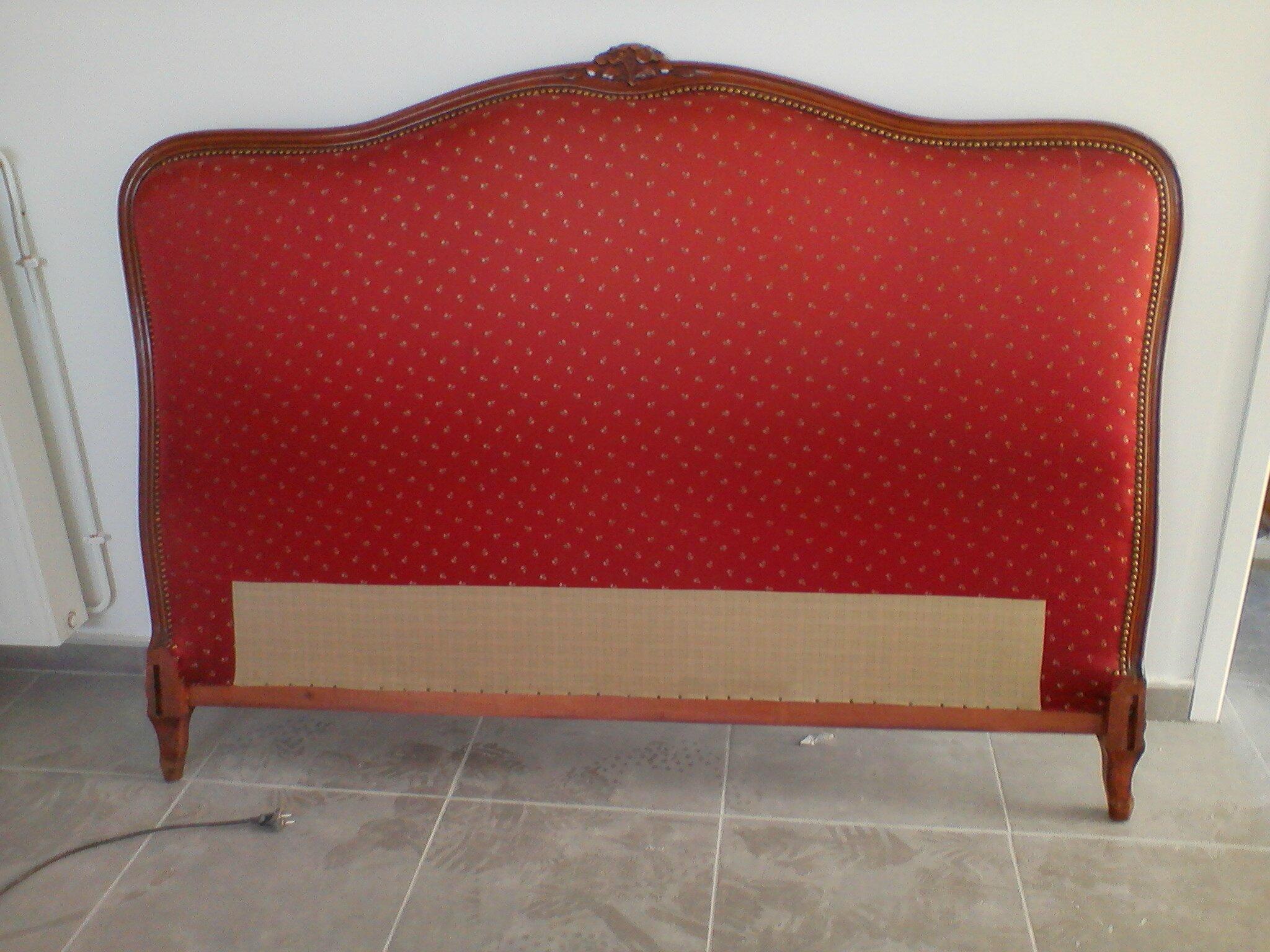 Comment Tapisser Une Chaise Ancienne tuto: tapisser une tête de lit - diy relooking mobilier