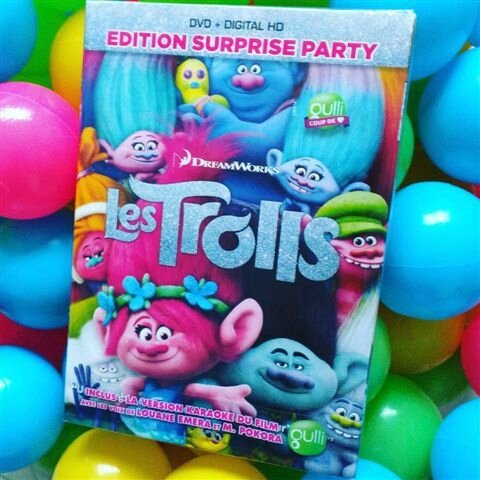 Les Trolls en DVD ©Kid Friendly