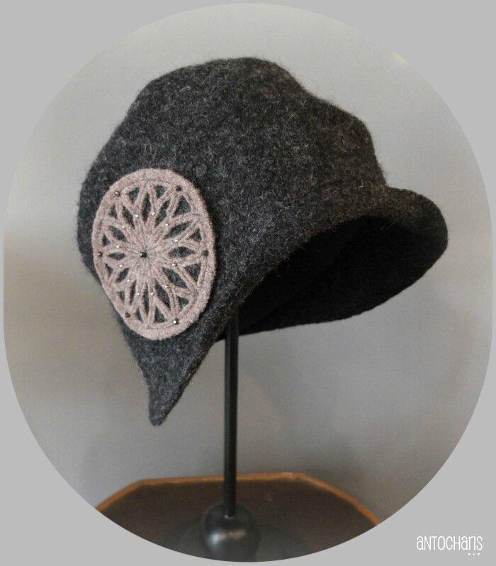 Chapeau Rosace 1