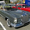 Mercedes benz 220 se coupe (w111) 1961-1965