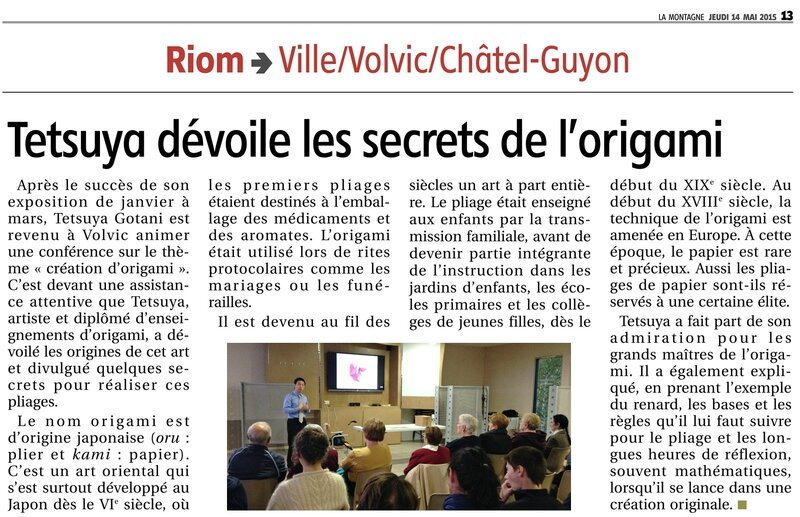 article Volvic conference 2015-a