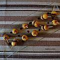 Bouchées de boudin blanc aux pommes
