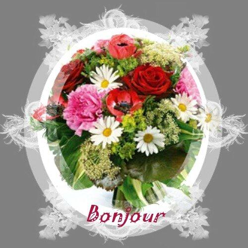 Bon mardi mes amis es l 39 univers de patounette et ses for Bouquet de fleurs pour un homme