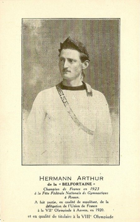 Arthur Hermann (JO Anvers 1920 & Paris 1924)