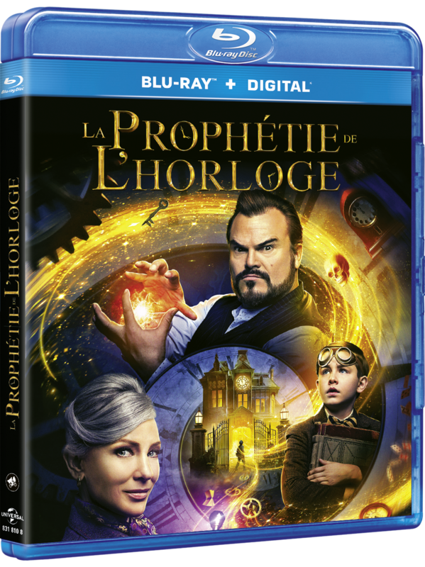 HOUSE WITH A CLOCK IN ITS WALLS, THE France BD Retail Sleeve packshot 3D