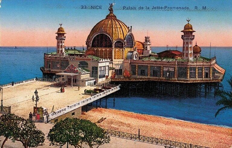 Nice-Palais de la Jetée-Promenade