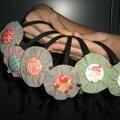 head band jonc cuir fleur 3