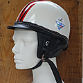 Collection ... ancien casque bol everest italie * années 50