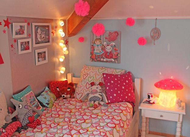 La chambre de la petite danseuse laetibricole - Chambre de jeune fille ...