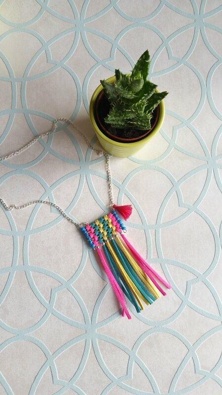 sautoir-tissage-diy-fluo-colorful-2
