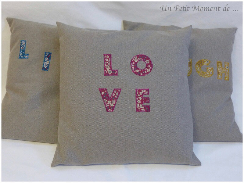 Coussin Love 1