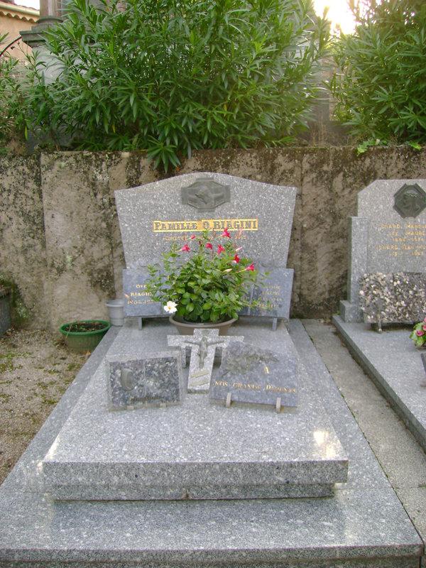 307 - Tombe de la famille O. Biagini