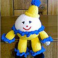 Traduction cheerful chuckie - yvonneknits