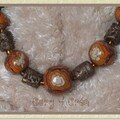 collier boules brun 3 bis
