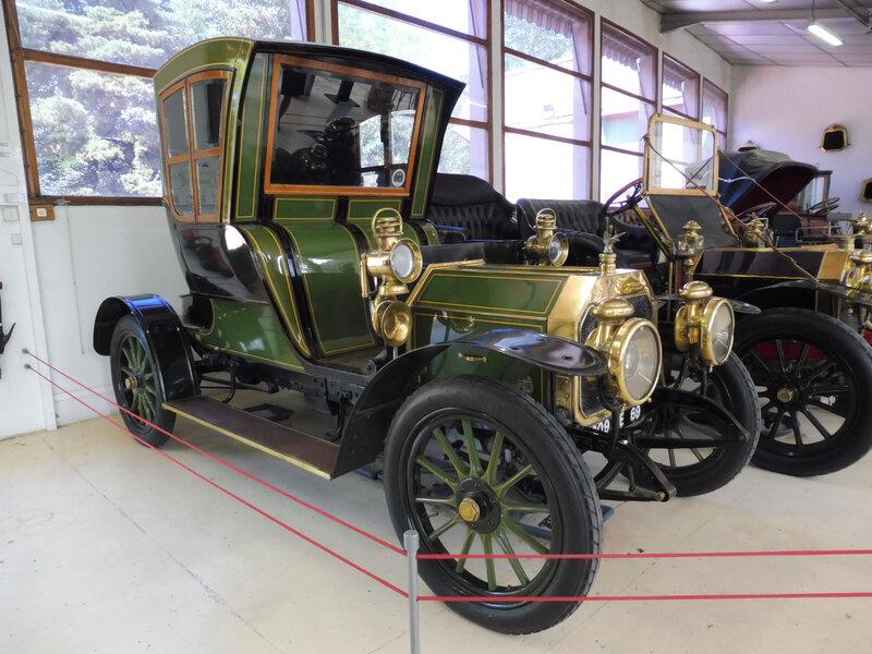 ROCHET SCHNEIDER 12CV type 9000 cabriolet de ville à 2 places 1909 Rochetaillée sur Saône (1)