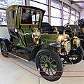 Rochet schneider 12cv type 9000 cabriolet de ville à 2 places 1909