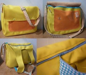cartable-besace-gm-jaune-orange-vichy