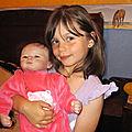 Julie avec une de ses grandes nièces