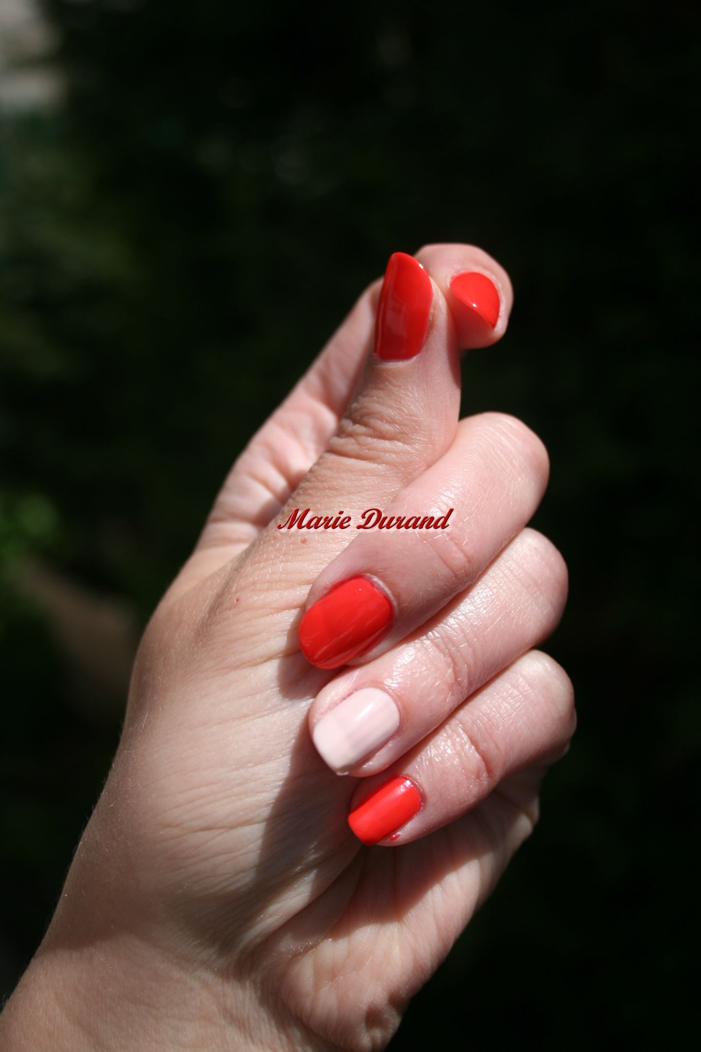 Vernis Electric Coral