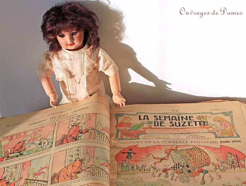 Semaine de Suzette et poupée