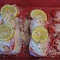 Filet de cabillaud en croûte de parmesan