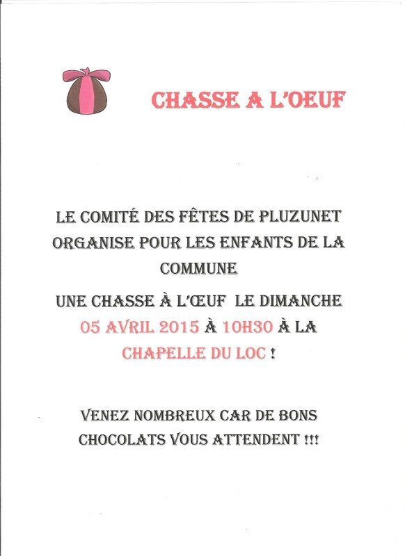 affiche chasse a l'oeuf 2015