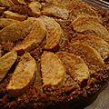 Gâteau presque 100% coco, et pommes