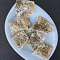 Crackers aux herbes provence