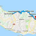 Samedi 26 mai - jour 12 - sao vicente - cote nord est (jusqu'à porto da cruz)