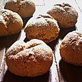 Petits pains rapide irlandais, le sodabread