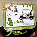 Boite cadeau souvenirs golf