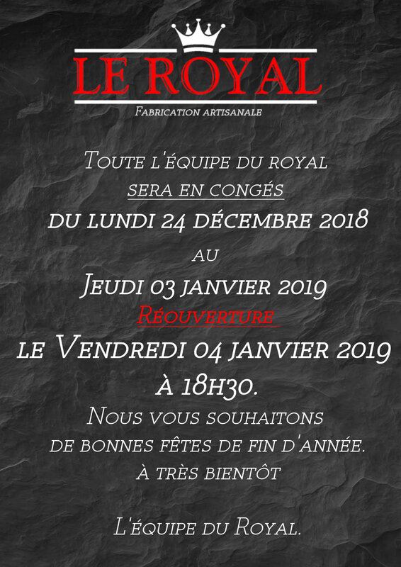 affiche conges le royal