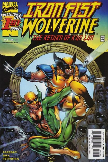 iron fist wolverine the return of k'un lun 1
