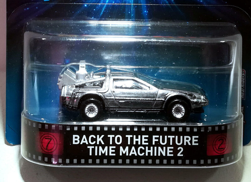 Back to The Future Time Machine 2 (Hotwheels) 01