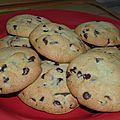 Cookies coeur fondant à la nutella